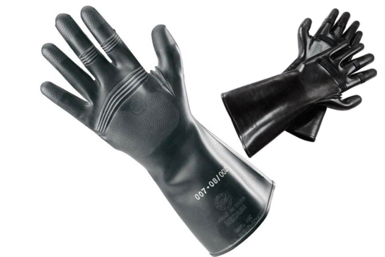 AirBoss rubber gloves